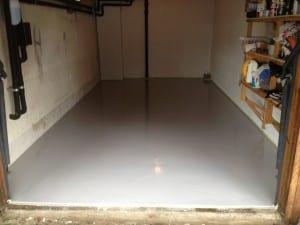 Epoxy i liten garasje