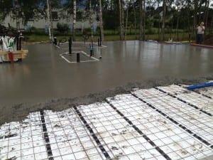 Støping av betongdekke