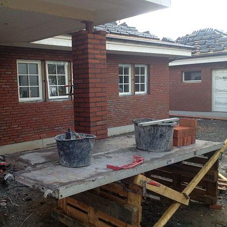 Muring av hus