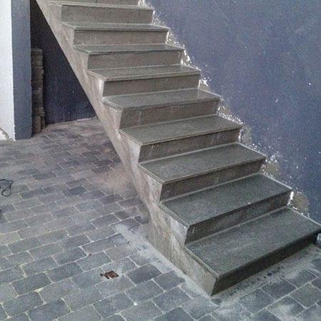 Støpt trapp