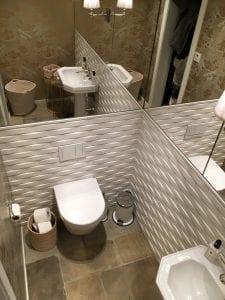 flislagt toalettrom