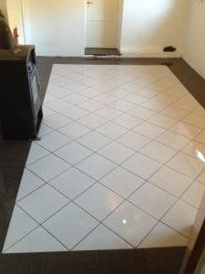 flislegging av gulv