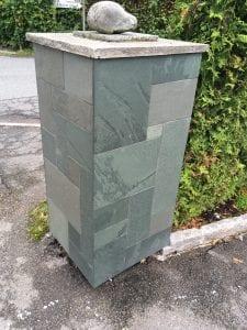 muret stolpe